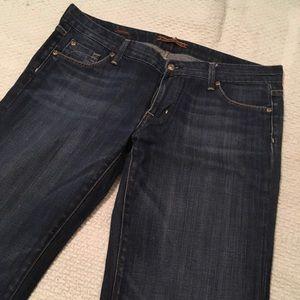 Fidelity Jeans - Fidelity denim hyacinth wide leg jean